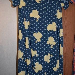 Disney Lula Roe Carly Dress